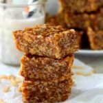 Healthy Pumpkin Spiced Rice Crispy Treats