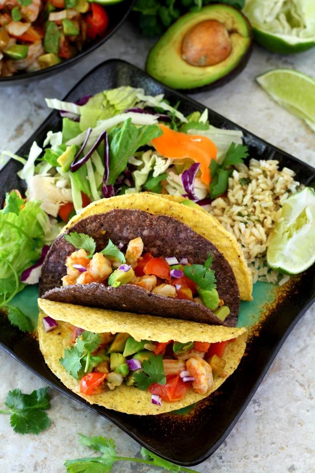 so many ways to enjoy this flavorful, guilt-free Shrimp Avocado Salsa ...
