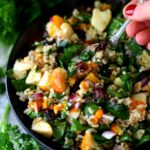 Roasted Butternut Squash Brown Rice Holiday Salad