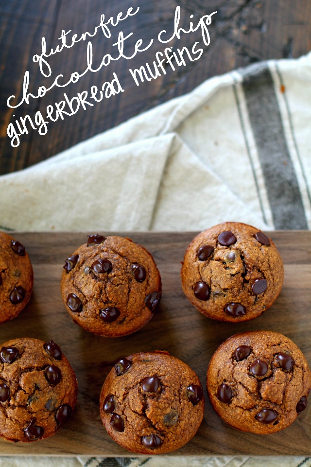 These cozy Gluten-Free Chocolate Chip Gingerbread Muffins, bursting with warm gingerbread flavor and studded with sweet chocolate chips, are truly the epitome of Christmas morning yumminess!