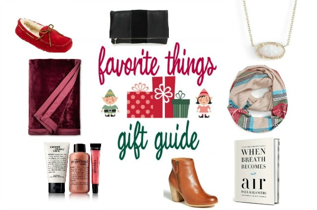 Favorite Things Gift Guide 2016