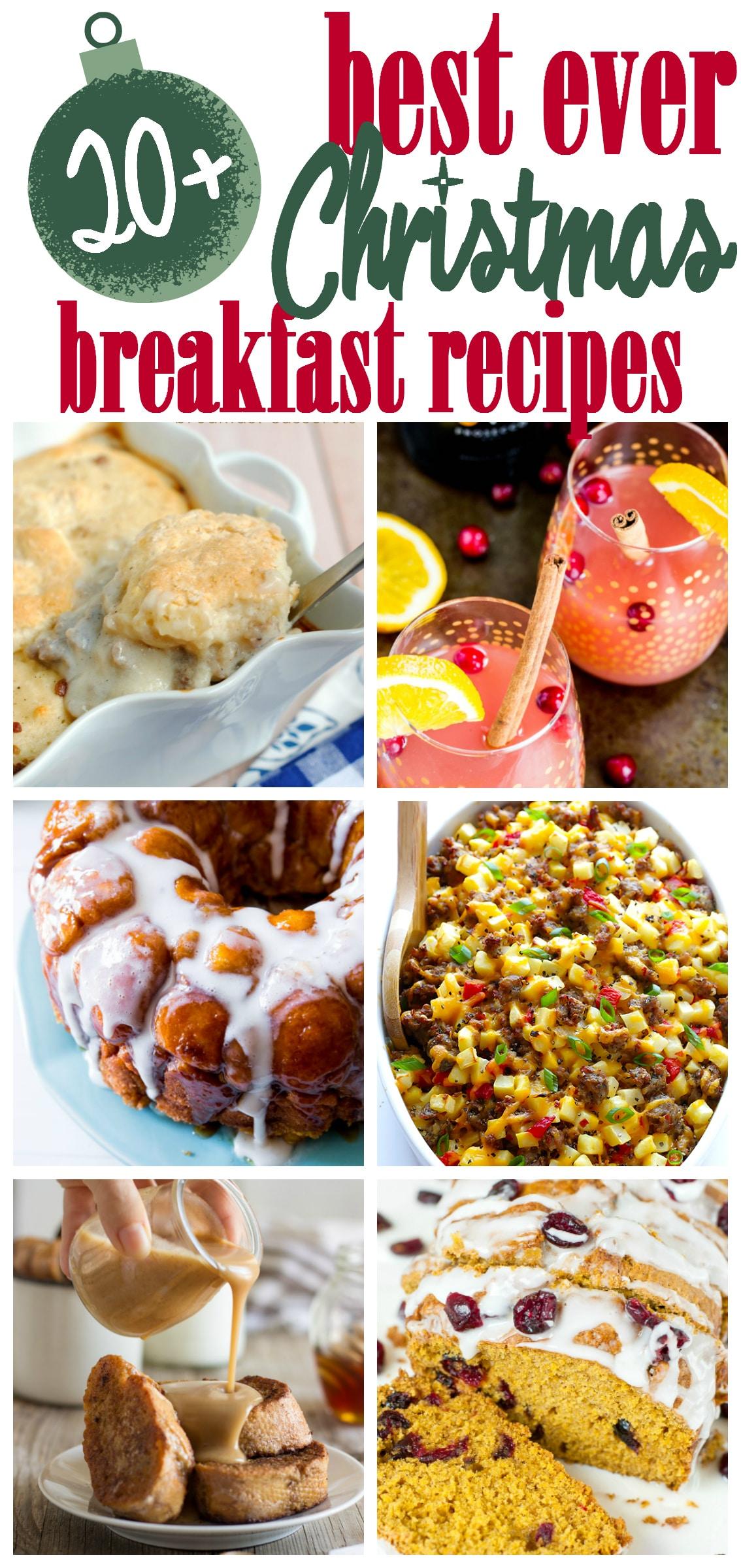 christmas breakfast ideas food
