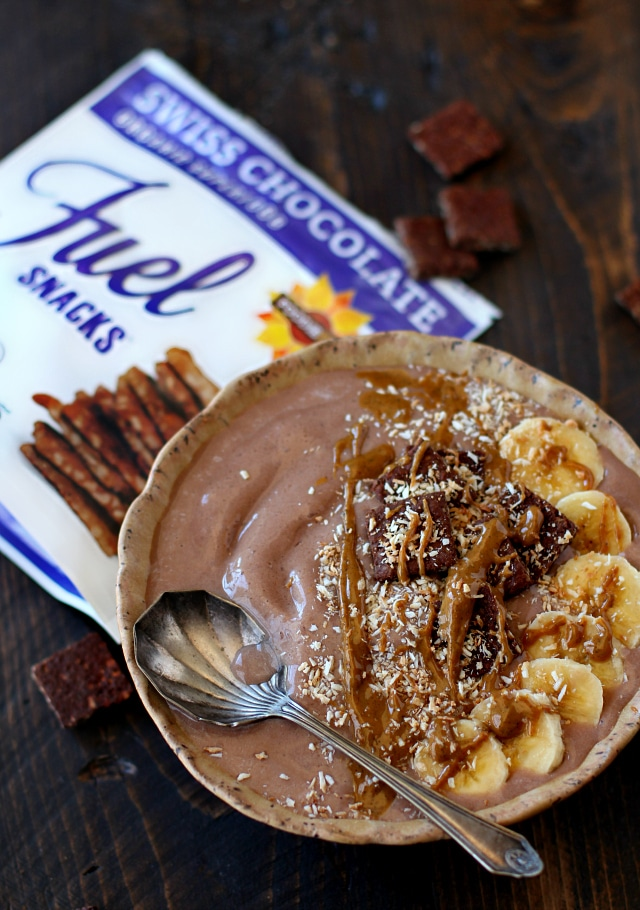 This Chocolate Peanut Butter Protein Smoothie Bowl is creamy, smooth, chocolatey, peanut buttery (is that a word), plant-based and ready to go in just a few short minutes. All of my favorite flavors in one bowl!