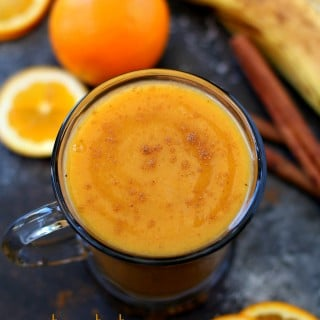 Sweet Potato Sunshine Smoothie