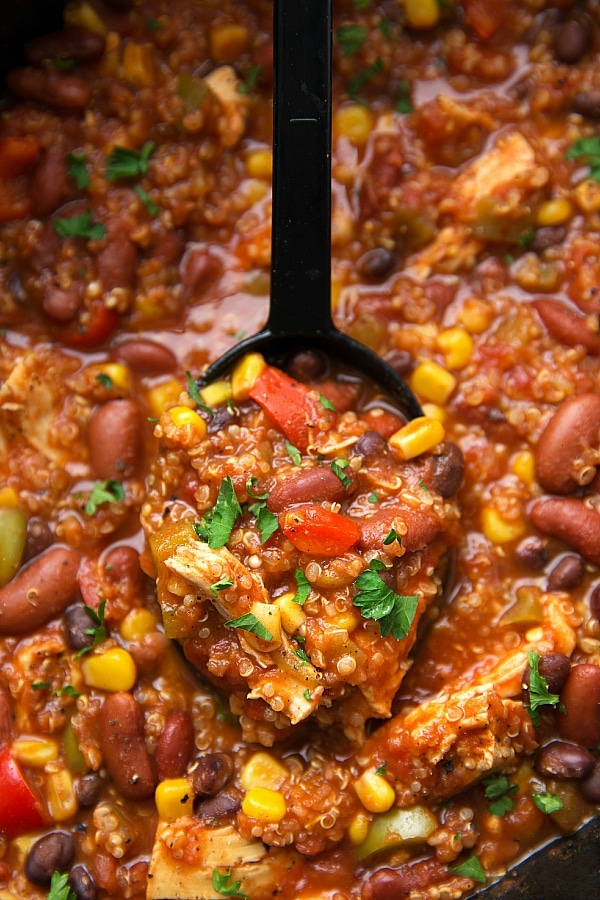 Stay warm and satisfied with these 20 healthy chili recipes. Before you know it, it'll be spring time!