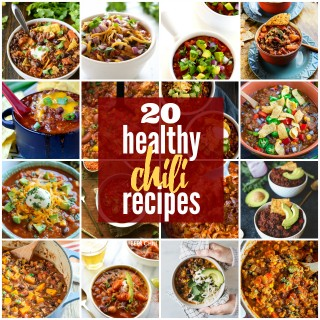 20 Healthy Chili Recipes