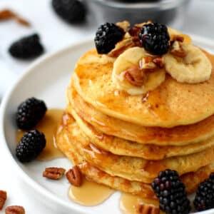 Fluffy Gluten-Free Yogurt Pancakes