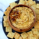 Flavorful Caramelized Onion Hummus