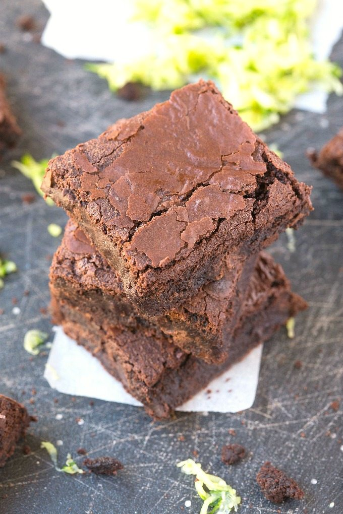 These healthy 5 Ingredient zucchini breakfast brownies are designed specifically for the best meal of the day! Made with no flour, grains, granulated sugar or butter, these moist, gooey and satisfying brownies are naturally gluten free, vegan, paleo and refined sugar free!