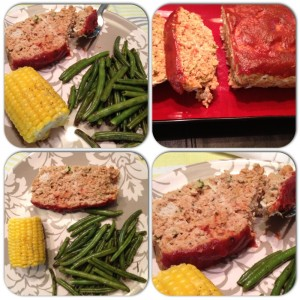 First Blog Post and Italian Meatloaf (healthified)
