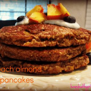 Peach Almond Pancakes