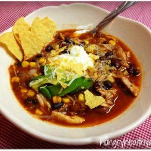 rainy day & taco soup = perfect day