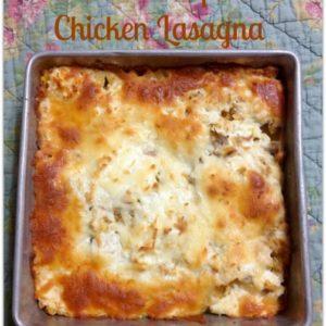 butternut squash chicken lasagna