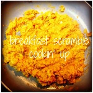 Paleo Pumpkin Breakfast Scramble