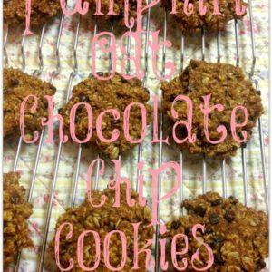 Pumpkin Oat Chocolate Chip Cookies & MIMM