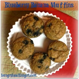 Blueberry Banana Muffins & Thankful Thursday