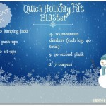Holiday Fat Blaster & Healthy Holiday Snack