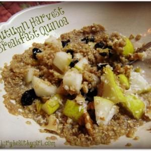 Autumn Harvest Breakfast Quinoa