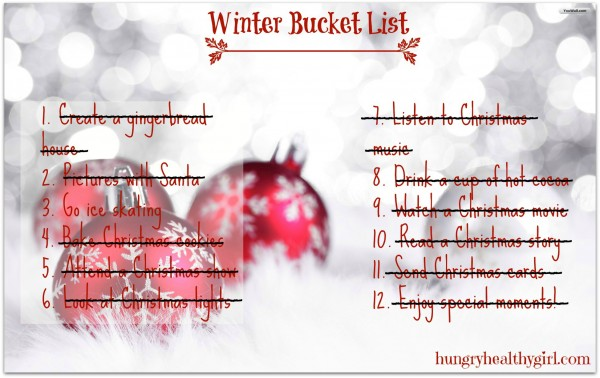 winter bucket list revisited