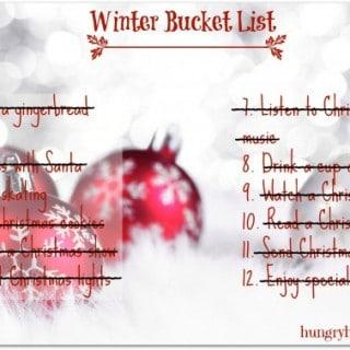Winter Bucket List Revisited