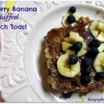 Blueberry Banana Stuffed French Toast {with Ezekiel 4:9® Flax Sprouted Whole Grain Bread}