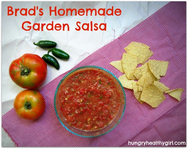 Brad's Homemade Garden Salsa