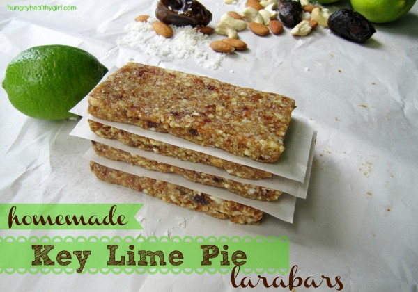 Homemade Key Lime Pie Larabars