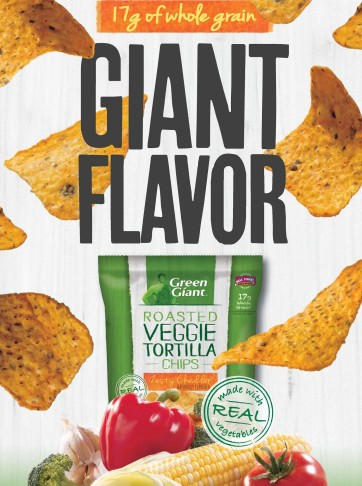 Green Giant Veggie Chips Key Visual 2