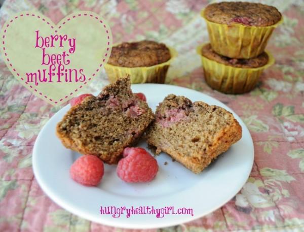 Berry Beet Muffins