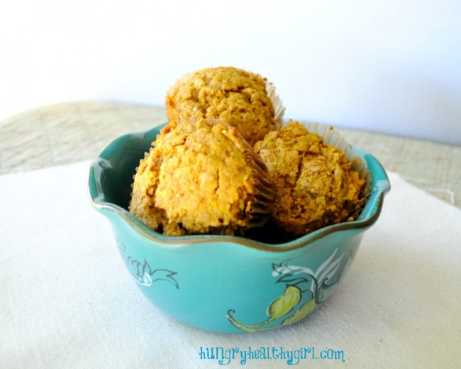 Copycat Starbucks Pumpkin Muffin with a Cashew Cream Filling (vegan)- You'll never miss Starbucks Pumpkin Cream Cheese Muffins or any of the nasty ingredients!