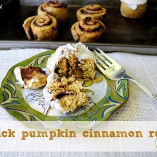 quick pumpkin cinnamon rolls Archives - Kim's Cravings