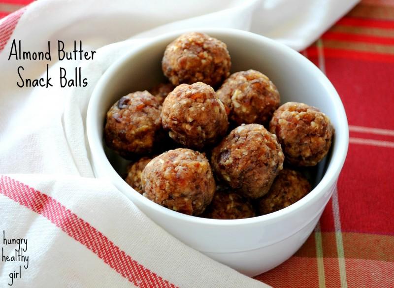 Almond Butter Snack Balls
