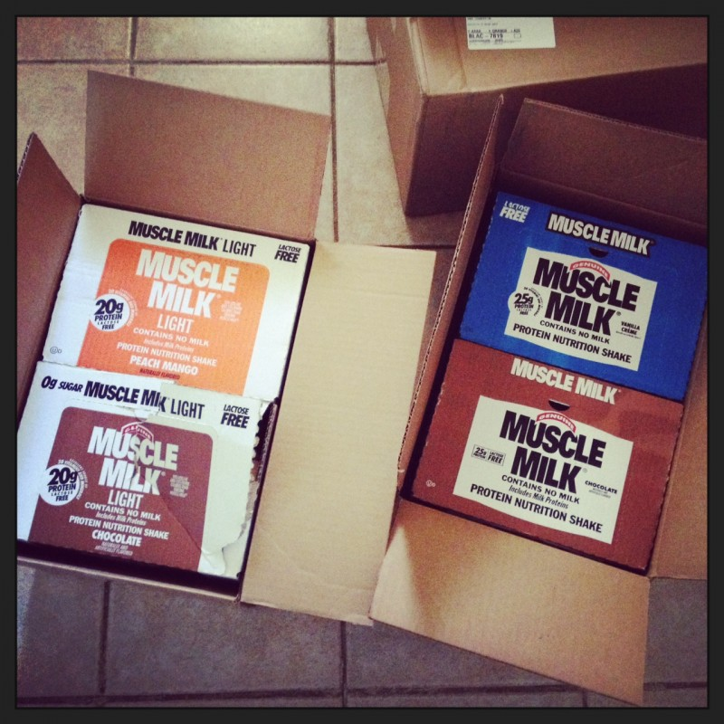 muscle milk boxes