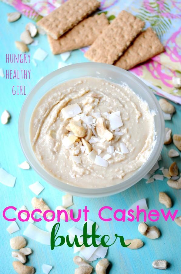 Coconut Cashew Butter- Just like creamy dreamy vegan icing!