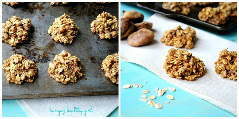 Healthier Oatmeal Fig Cookies- Tastes decadent, but they're really very healthy!