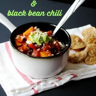 Butternut Squash and Black Bean Chili