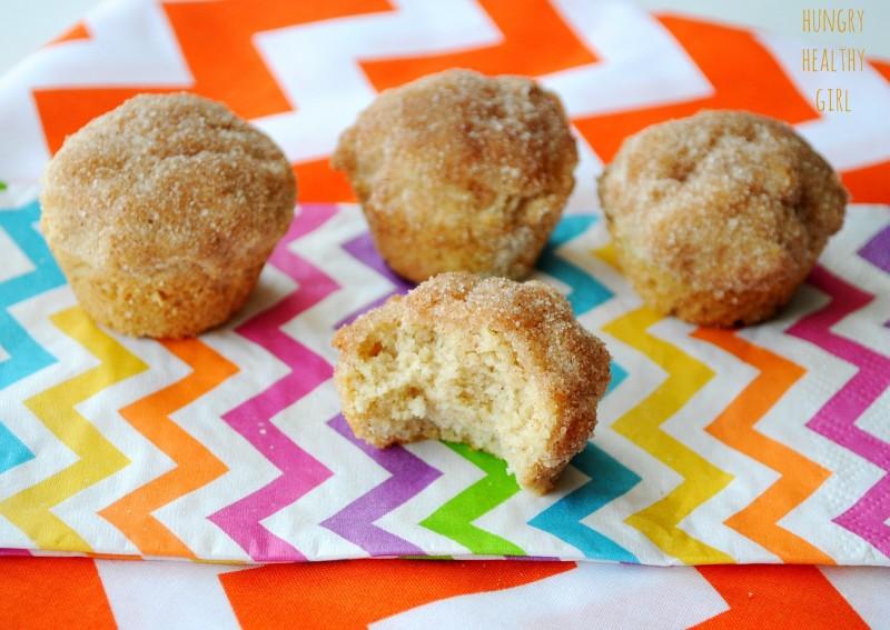 Mini Snickerdoodle Muffins