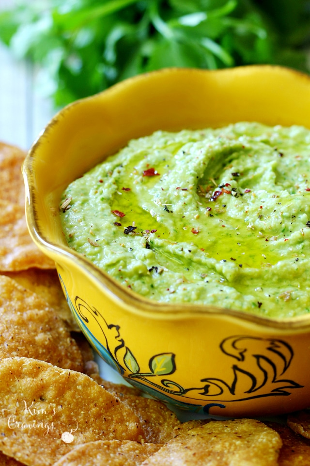 Trader Joe's Cilantro Jalapeno Hummus doesn't have anything on the deliciousness of this easy-to-make, very healthy hummus!