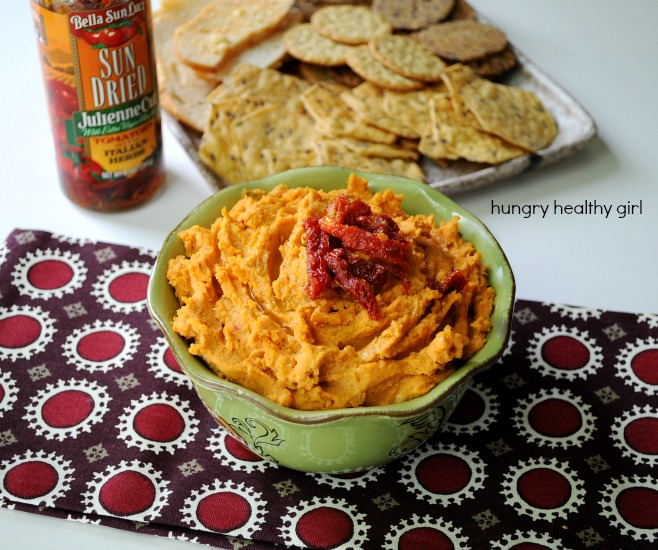 Easy, tasty and healthy Sun-Dried Tomato Hummus