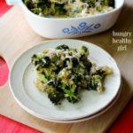 Creamy Broccoli Quinoa Casserole