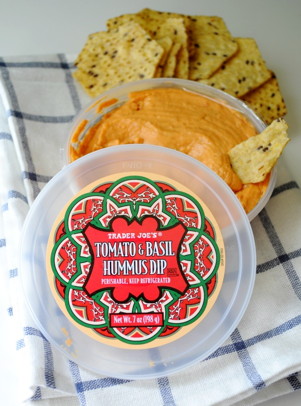 Tomato and Basil Hummus