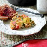 Light Vegetable Frittata