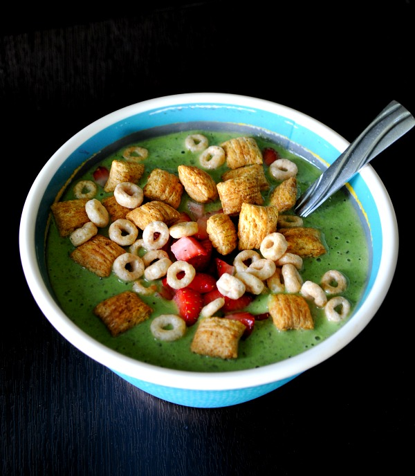 Green Smoothie Cereal Bowl