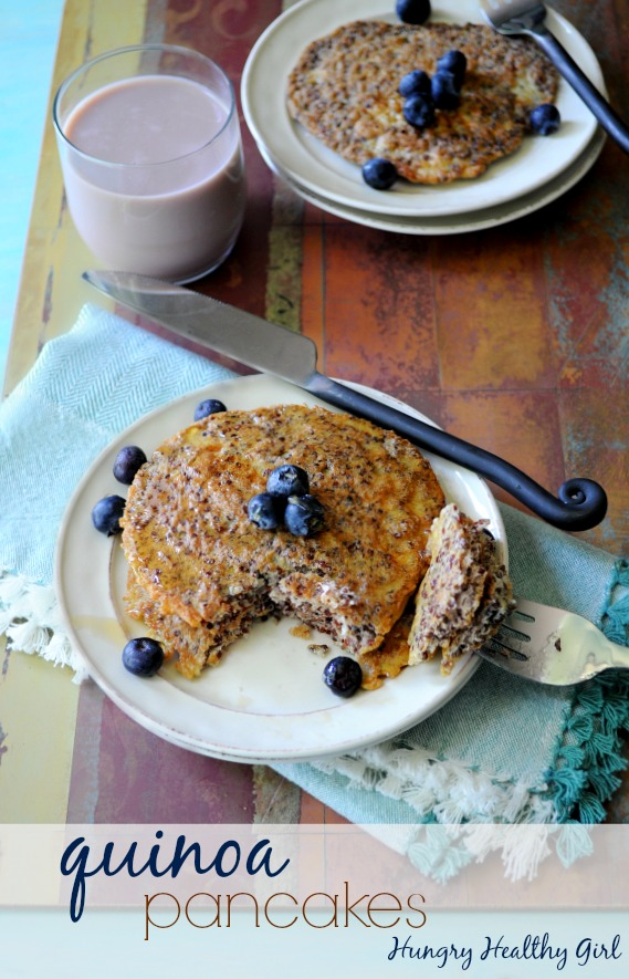 Quinoa pancakes kim 39 s cravings for Recipes with minimal ingredients