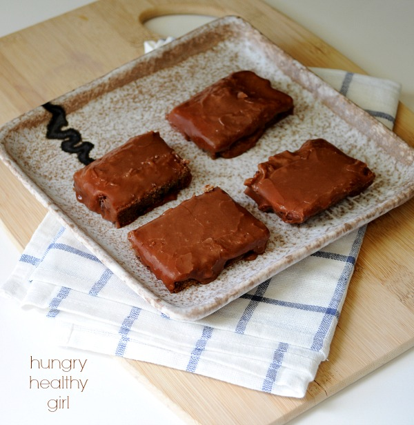 Healthier Lunch Lady Brownies