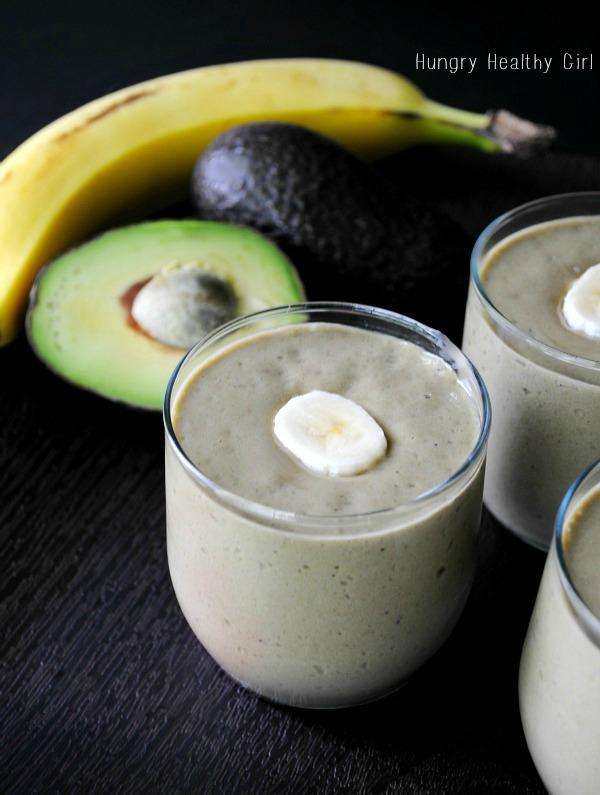 Berry Banana Avocado Smoothie