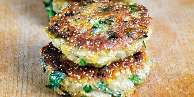 amaranth lentil patties