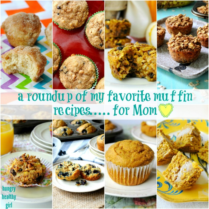 Muffin Roundup for Mother's Day