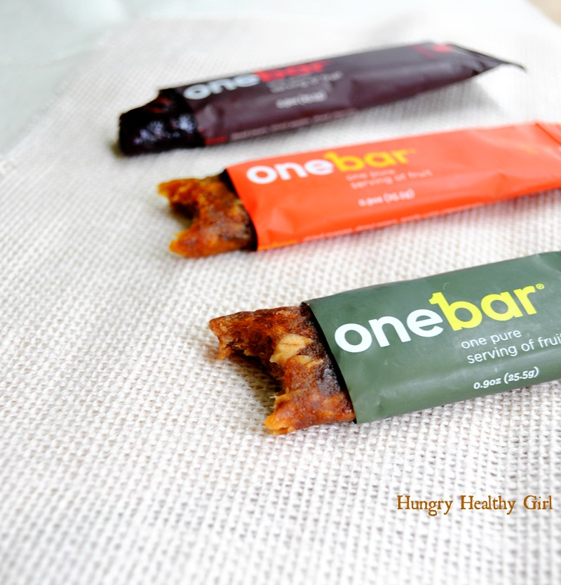 OneBar- one pure serving of fruit in each bar