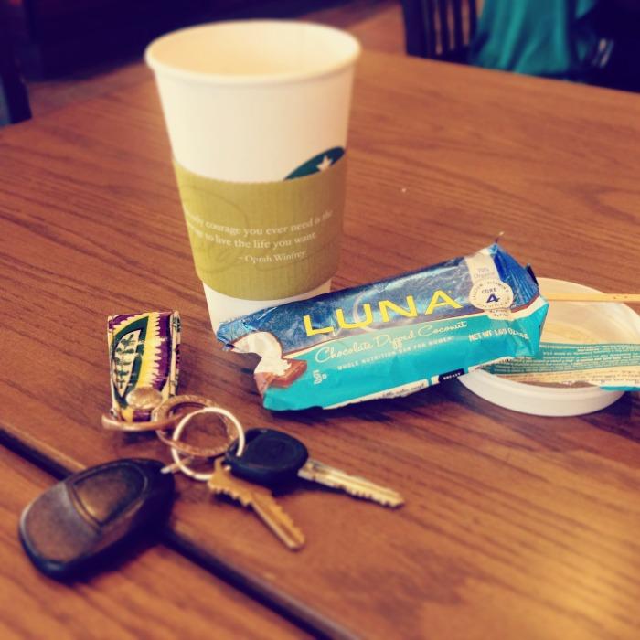 Starbucks snackin'